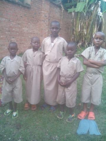 Africa, prima zi de şcoală
